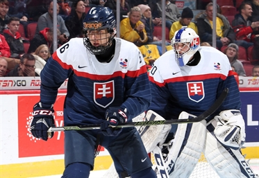 U18 WORLDS: Slovakia's Tower - D-man Fehervary The Hope Of The Host