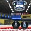 SPISSKA NOVA VES, SLOVAKIA - APRIL 17: Official game pucks to be used during the USA vs Czech Republic preliminary round game at the 2017 IIHF Ice Hockey U18 World Championship. (Photo by Steve Kingsman/HHOF-IIHF Images)