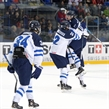 Finns win semi 2-1 in OT